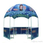branded gazebo in marketing