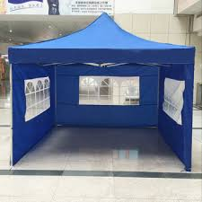 Marquee tents as promotional tool